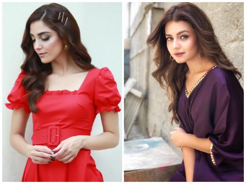 Zara Noor Abbas and Maya Ali
