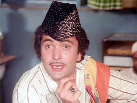 Rishi Kapoor shown to user