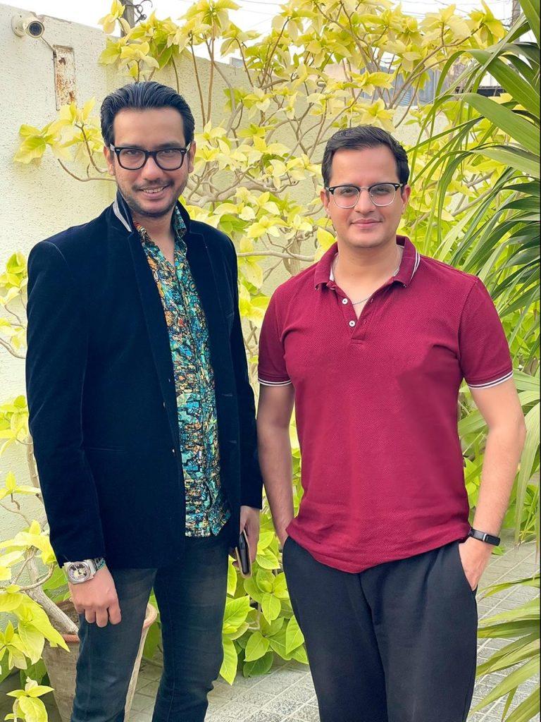 Saqib Sumeer and Hassan Choudary